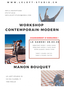 Copie de Copie de Workshop hip hop commercial